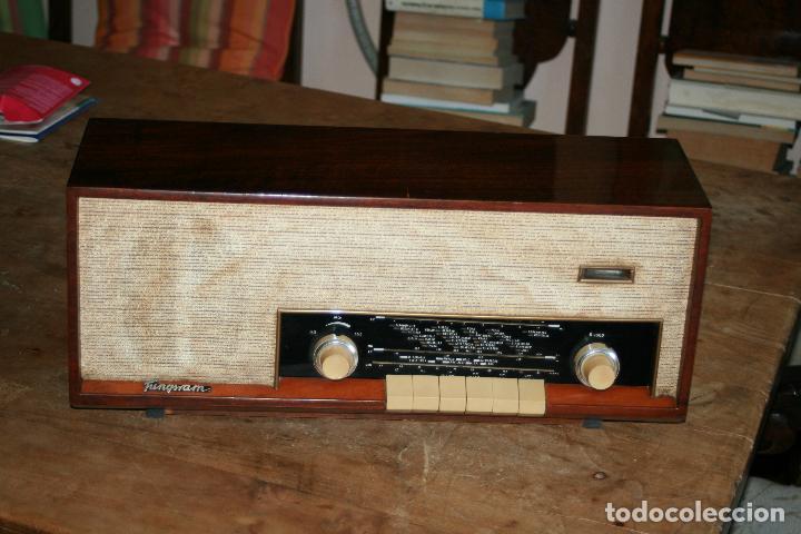 Radios de válvulas: Muy bonita Radio de válvulas Tungsram 4500, no funciona, para decoracion o para reparar - Foto 20 - 116833796