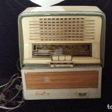 Radios de válvulas: ANTIGUA RADIO DE VÁLVULAS MARCONI UM 147. Lote 95633627