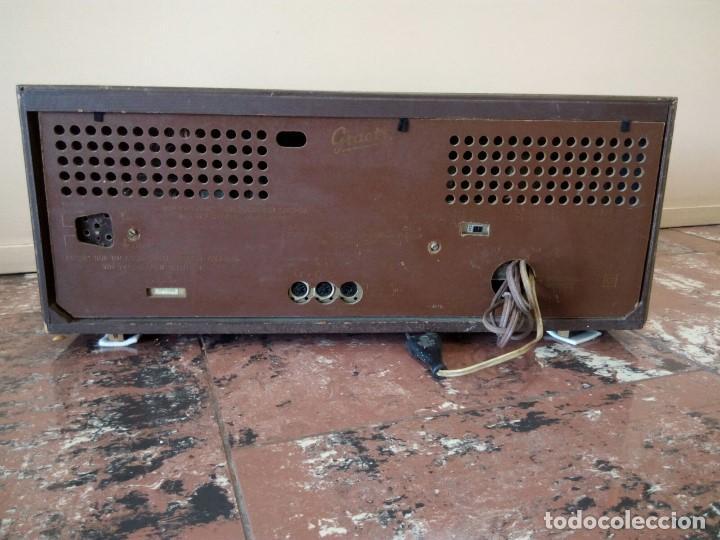 Radios de válvulas: Radio alemana GRAETZ KOMTESS año 1965-66. - Foto 5 - 95833639