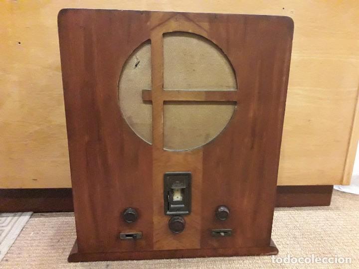 RADIO ART DECO OWIN (Radios, Gramófonos, Grabadoras y Otros - Radios de Válvulas)