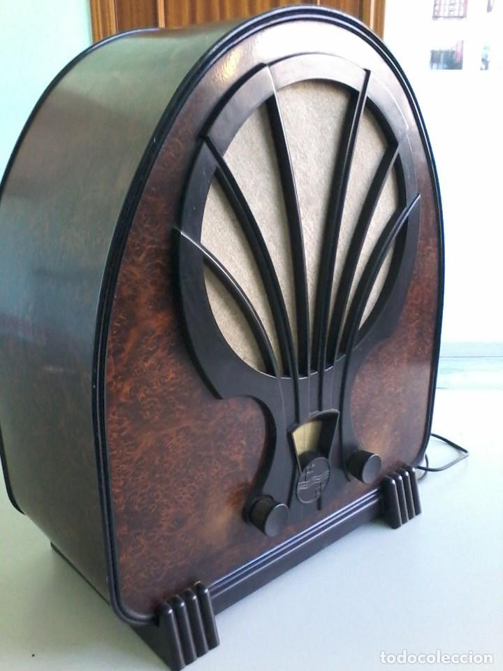 RADIO ANTIGUA PHILIPS 830 A AÑO 1933 (Radios, Gramófonos, Grabadoras y Otros - Radios de Válvulas)