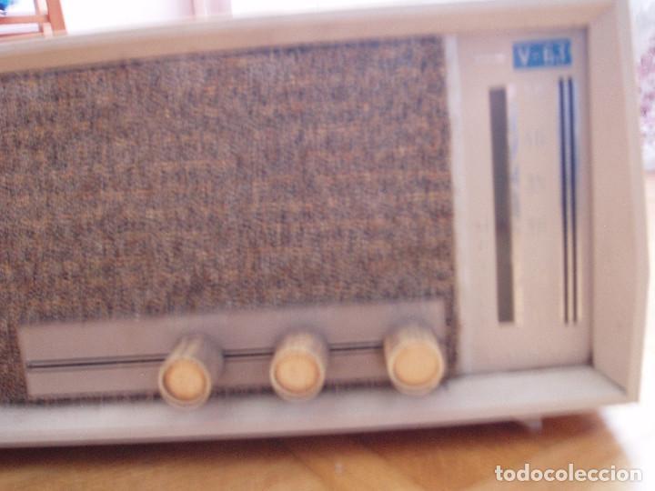 Radios de válvulas: ANTIGUA ( RETRO VINTAGE) RADIO DE VALVULAS . - Foto 2 - 97518555