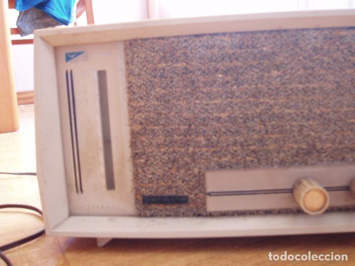 Radios de válvulas: ANTIGUA ( RETRO VINTAGE) RADIO DE VALVULAS . - Foto 3 - 97518555