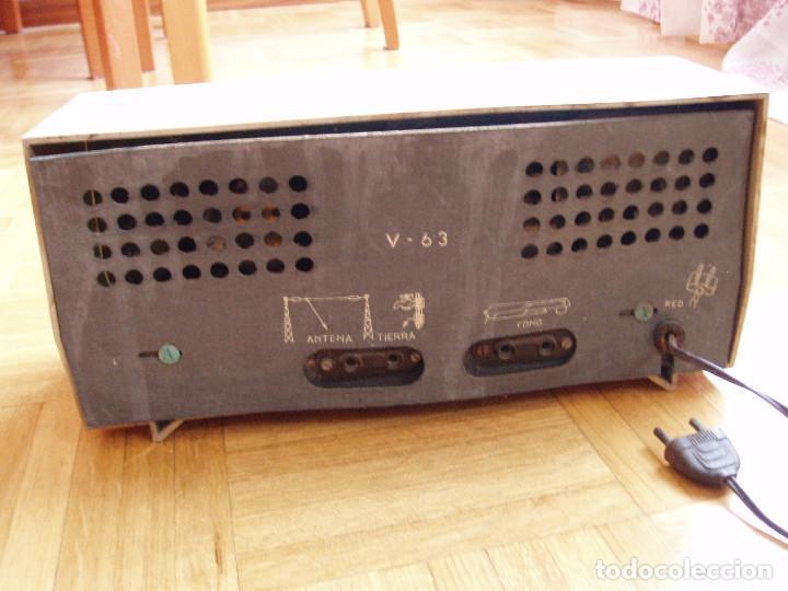 Radios de válvulas: ANTIGUA ( RETRO VINTAGE) RADIO DE VALVULAS . - Foto 5 - 97518555