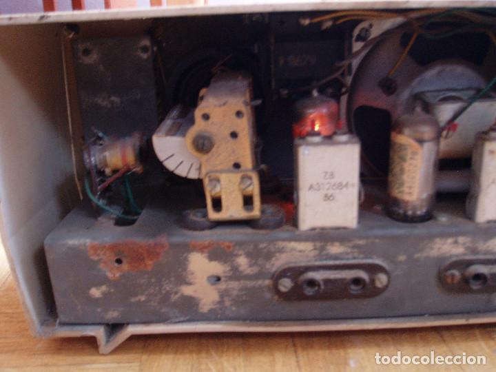 Radios de válvulas: ANTIGUA ( RETRO VINTAGE) RADIO DE VALVULAS . - Foto 10 - 97518555