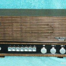 Radios de válvulas: HILO MUSICAL HASTER MODELO ALBENIZ. Lote 97689275