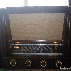 Radios de válvulas: RADIO CARCASA MADERA (RESTAURADA). Lote 98567075
