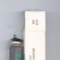 Radios de válvulas: 6197 - RCA VALVULA ( ELECTRONIC TUBE ) NOS. Lote 99757571