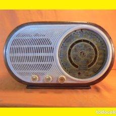 Radios de válvulas: ANTIGUO RADIO ESPAÑOLA AÑO 1956 VÁLVULAS VICA MODELO: 400 VICA (TALLERES VICA); BARCELONA COMPLETA. Lote 99860227