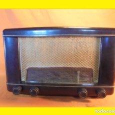 Radios de válvulas: ANTIGUO RADIO ESPAÑOLA AÑO 1951 VÁLVULAS PHILIPS MODELO: BE-412-A PHILIPS IBERICA S.A.E. (MINIWATT);. Lote 99860959