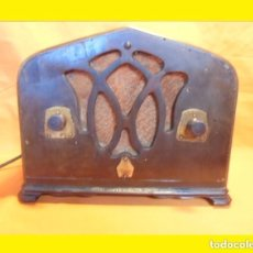Radios de válvulas: ANTIGUA HE IMPRESIONANTE RADIO AMERICANA AÑO 1933 DE CAPILLA A VÁLVULAS EMERSON 250-LW CH= H-5-L. Lote 99964919