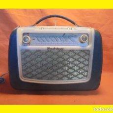 Radios de válvulas: ANTIGUA RADIO ALEMANA AÑO 1957 A VÁLVULAS SCHAUB LORENZ MODELO: AMIGO 57 E SCHAUB UND SCHAUB-LORENZ. Lote 99971871