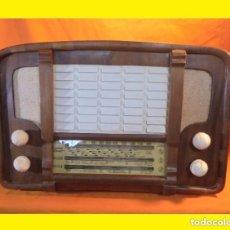 Radios de válvulas: ANTIGUA RADIO ANGLO/ESPAÑOLA AÑO 1951 A VÁLVULAS (AEESA) ANGLO ESPAÑOLA DE ELECTRICIDAD S.A MODELO:. Lote 112397404