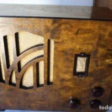 Radios de válvulas: ANTIGUO RADIO DE LOS AÑOS 30 KUNGS RADIO TYP 317V FUNCIONA. Lote 100213651