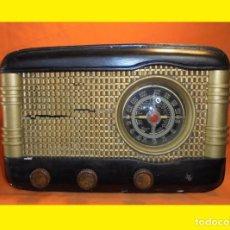 Radios de válvulas: ANTIGUA HE IMPRESIONANTE RADIO A VÁLVULAS DESCONOCIDA. Lote 112400858