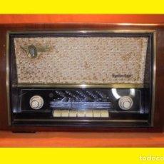 Radios de válvulas: TELEFUNKEN ALLEGRETTO A-4167 - TELEFUNKEN RADIOTÉCNICA - GETAFE 1955 ANTIGUO RADIO A VÁLVULAS ESPAÑO. Lote 100248003