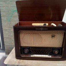 Radios de válvulas: ANTIGUA RADIO DE LÁMPARAS FUNCIONANDO. Lote 100516547