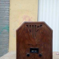 Radios de válvulas: ANTIGUA RADIO DE LÁMPARAS. Lote 100516887