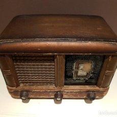 Radios de válvulas: RADIO DE MADERA, 5 VALVULAS, MARCA ANCAR, TAL CUAL SE VE.. Lote 100751663