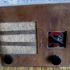 Radios de válvulas: RADIO LANCEL - BAMBINO STANDARD DE 1939 – PARIS -- DE MADERA MUY PEQUEÑA. Lote 101078431