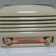 Radios de válvulas: BONITA RADIO DOBLE CARA .SIMETRICA - MUY RARA Y FUNCIONANDO (VER VÍDEO COMPLETO). Lote 101244475