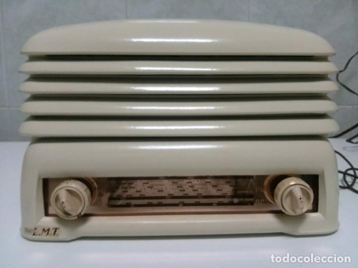 Radios de válvulas: BONITA RADIO DOBLE CARA .SIMETRICA - MUY RARA Y FUNCIONANDO (VER VÍDEO COMPLETO) - Foto 2 - 101244475