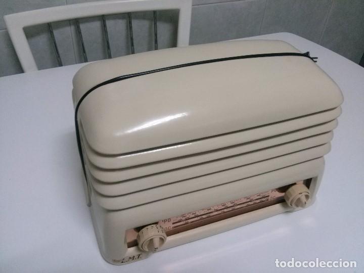 Radios de válvulas: BONITA RADIO DOBLE CARA .SIMETRICA - MUY RARA Y FUNCIONANDO (VER VÍDEO COMPLETO) - Foto 7 - 101244475