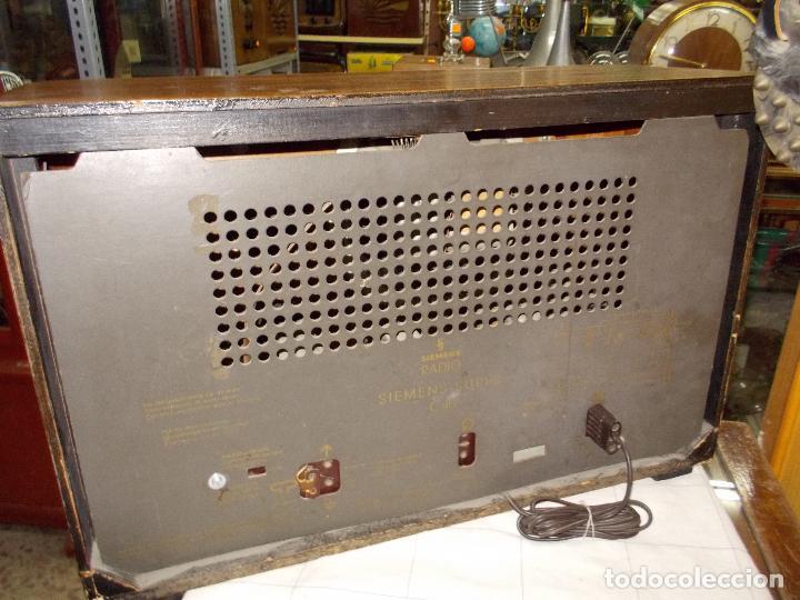 Radios de válvulas: Radio siemens - Foto 12 - 101291155