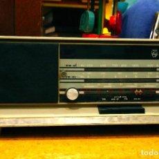 Radios de válvulas: RADIO ANTIGUA TRANSISTOR PHILIPS VALVULAS ANTIGUO VINTAGE. Lote 101808399