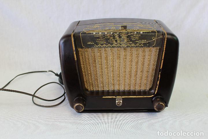RADIO PHILETTA PEINETA BE 292-U PHILIPS IBERICA S.A.E. (Radios, Gramófonos, Grabadoras y Otros - Radios de Válvulas)