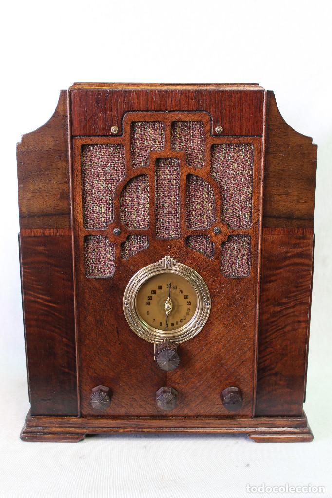 THE CROSLEY RADIO MODEL 6U2-5 MADE IN USA AÑO 1936 (Radios, Gramófonos, Grabadoras y Otros - Radios de Válvulas)