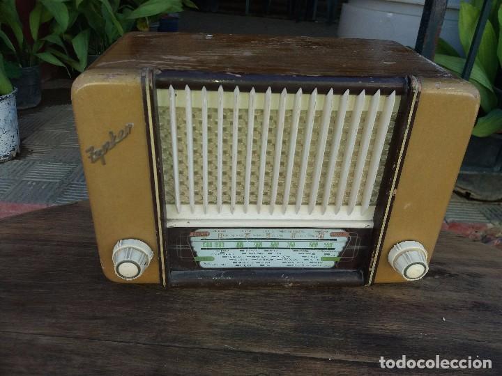 RADIO ANTIGUA MARCA ZYNKER (Radios, Gramófonos, Grabadoras y Otros - Radios de Válvulas)