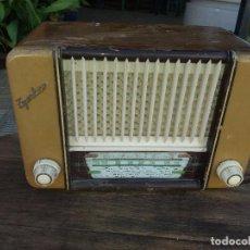 Radios de válvulas: RADIO ANTIGUA MARCA ZYNKER. Lote 102076283