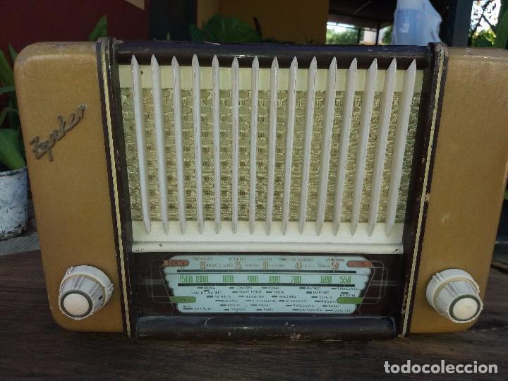 Radios de válvulas: radio antigua marca zynker - Foto 2 - 102076283