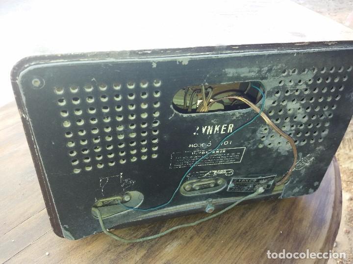 Radios de válvulas: radio antigua marca zynker - Foto 4 - 102076283