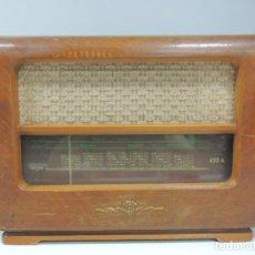 Radios de válvulas: ANTIGUA RADIO DE VÁLVULAS MADERA MARCA ORION AÑOS 50-60 VINTAGE EXSELENTE. Lote 102400967