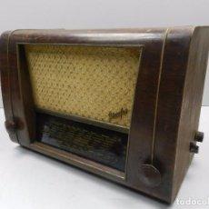 Radios de válvulas: ANTIGUA RADIO DE VÁLVULAS MADERA MARCA STASSFUCC AÑOS 50- 60 ALEMANIA . Lote 102401599