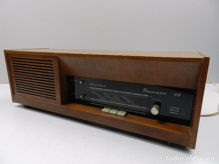 ANTIGUA RADIO DE VÁLVULAS MADERA MARCA ROMANS 69 AÑOS 50-60 RARO (Radios, Gramófonos, Grabadoras y Otros - Radios de Válvulas)