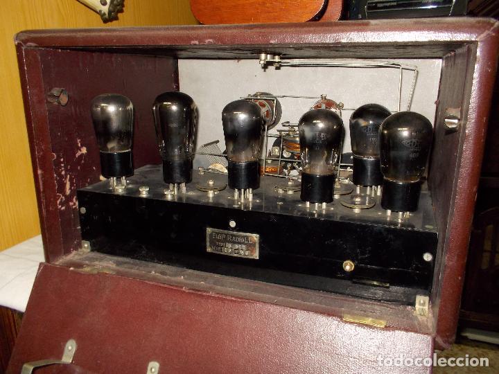 Radios de válvulas: Radio Cofre Radio LL - Foto 3 - 102612843