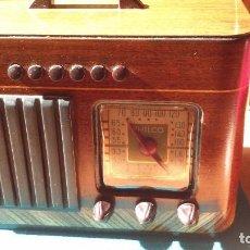 Radios de válvulas: BONITA RADIO AMERICANA PHILCO 40-125 AÑO 1939/1940 FUNCIONANDO . Lote 102642375