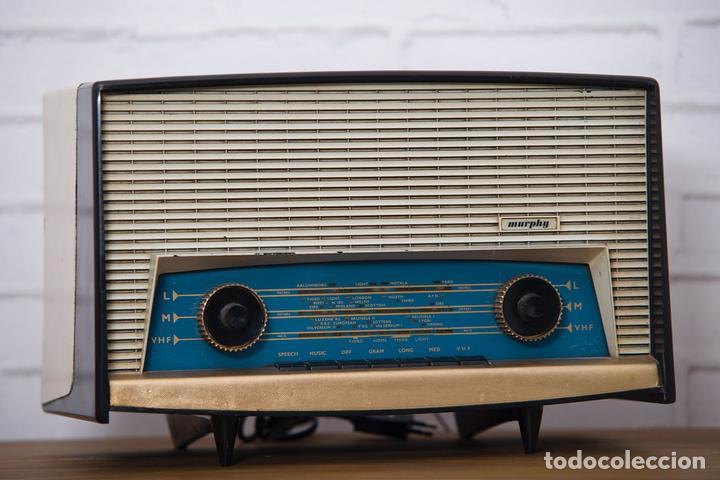 RADIO MURPHY U506. GRAN BRETAÑA 1959. FUNCIONANDO (Radios, Gramófonos, Grabadoras y Otros - Radios de Válvulas)