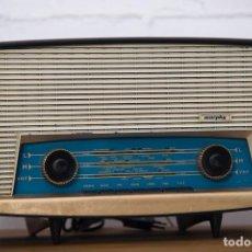 Radios de válvulas: RADIO MURPHY U506. GRAN BRETAÑA 1959. FUNCIONANDO. Lote 102799496