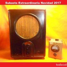 Radios de válvulas: KÖRTING VE 301W II GUERRA MUNDIAL (NAZI) ALEMANIA CACASA RADIO DE VALVULAS. Lote 103288655