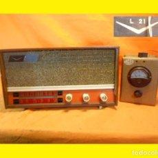 Radios de válvulas: RARÍSIMO ¡¡¡ LACORA L-21 !!! FABRICADO EN BARCELONA ¡ ESPAÑA! EN EL AÑO 1955. Lote 103483919