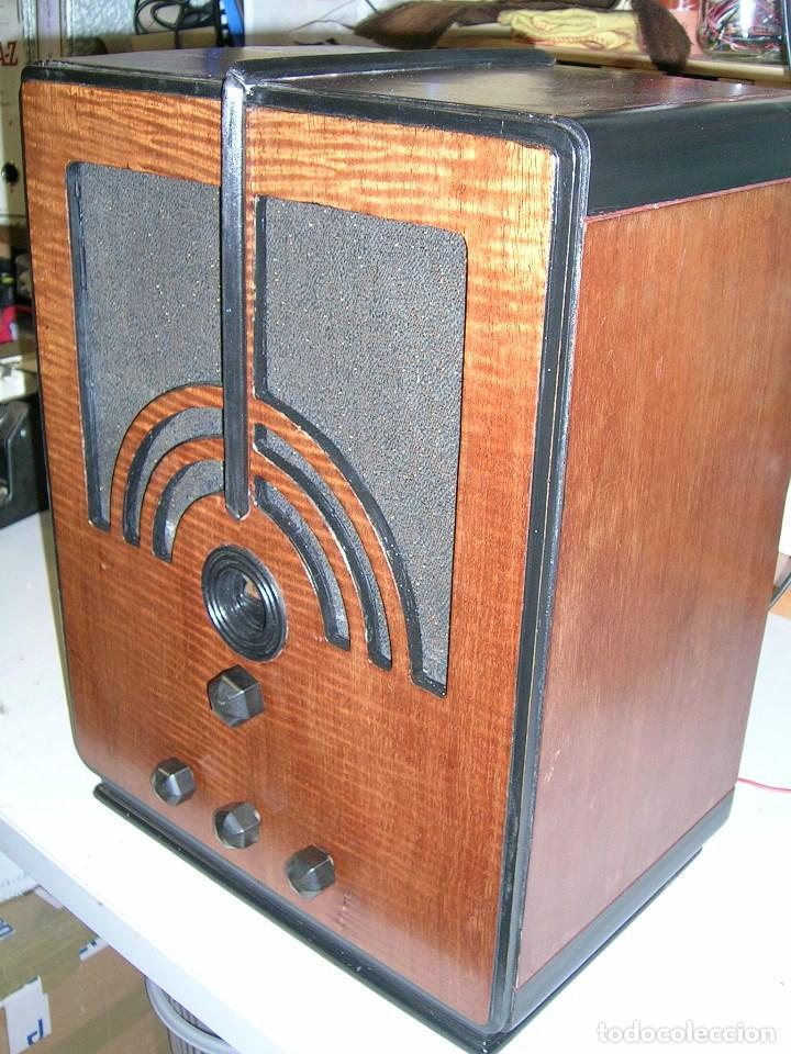 Radios de válvulas: Radio Americana Philco mod. 60MB - Foto 2 - 103638015