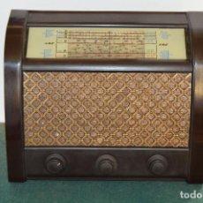 Radios de válvulas: ANTIGUA RADIO DE VALVULAS ¨G.E.C. BC5444, 1953, BAQUELITA, MUY BUEN ESTADO, ORIGINAL.. Lote 103671671