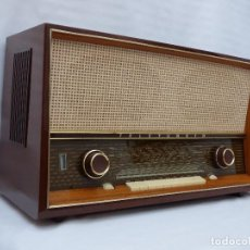 Radios de válvulas: ANTIGUA RADIO DE VÁLVULAS TELEFUNKEN, IMPECABLE, FUNCIONANDO CON POTENTE Y GRAN SONIDO (VER VÍDEO). Lote 103675671