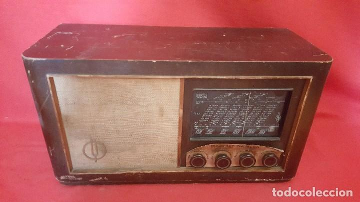 RADIO DUCRETET – THOMSON D-436 PARA RESTAURAR. (Radios, Gramófonos, Grabadoras y Otros - Radios de Válvulas)