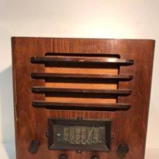 Radios de válvulas: RADIO MARCA BRUNET PARA RESTAURAR.. Lote 104797043