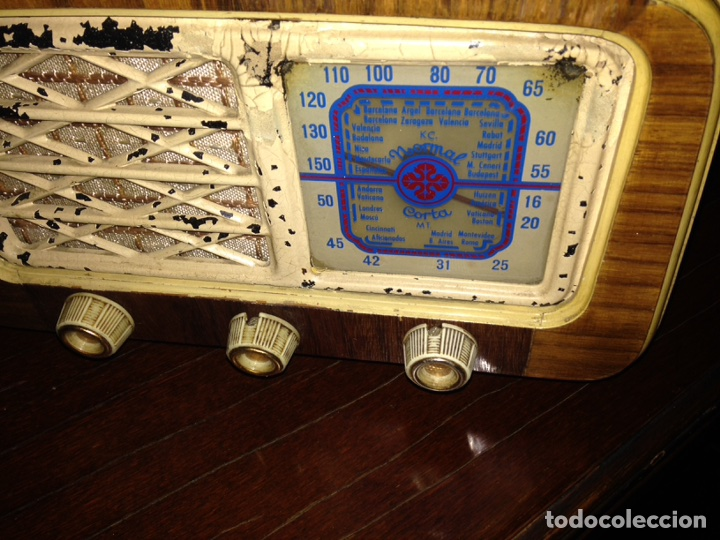 Radios de válvulas: Radio de valvulas española - Foto 3 - 105298600